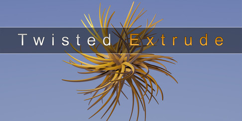 Twisted Extrude