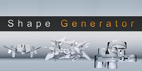 3D Shape Generator
