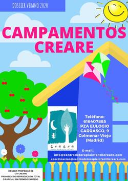 campamento creare madrid