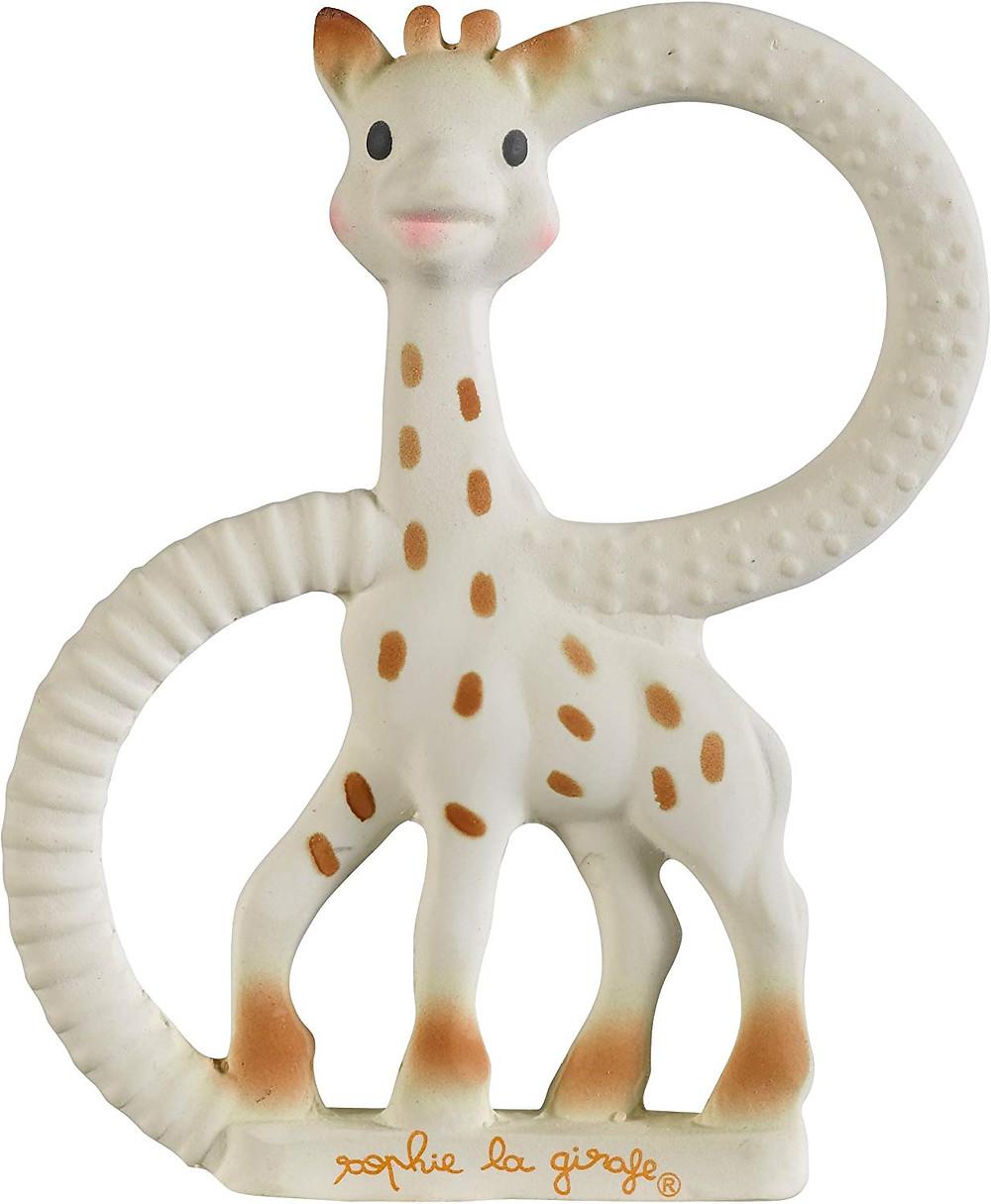anillo mordedor jirafa sophie creare