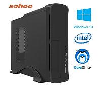 מחשב נייח מארז מוקטן הכולל INTEL Core i5-10400 8GB 256GB SSD Windows 10