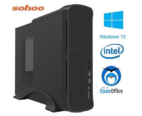 מחשב נייח מארז מוקטן הכולל INTEL Core i3-10100 8GB 240GB Windows 10