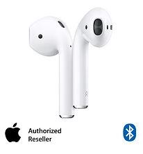 אוזניות אלחוטיות Apple New AirPods with Charging Case עם מיקרופון Bluetooth