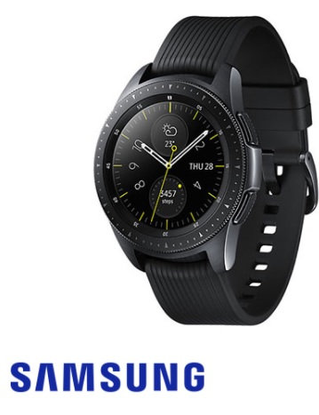 שעון חכם סמסונג Samsung Galaxy Watch 42mm SM-R810 בצבע שחור