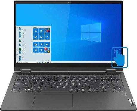 "מחשב נייד Lenovo Flex 5 15.6"" FHD Touch Core i7 1065G7 16GB DDR4 512GB SSD"