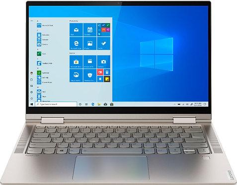 """מחשב נייד מגע """"14.0 Lenovo Yoga C740 Core i7 10510U 16GB DDR4 1TB SSD"""