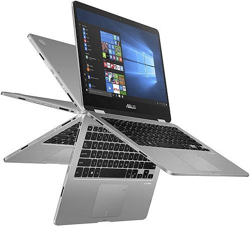"""מחשב נייד מסך מגע """"14 Asus TP401MA N5030 4GB DDR4 256GB SSD"""