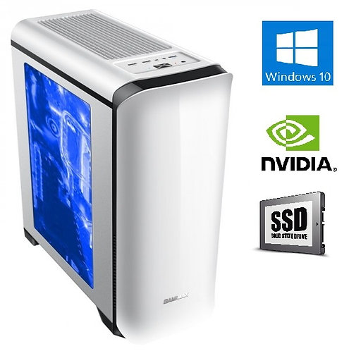 מחשב נייח לעריכה Extreme Core i5-10400F 8GB 256GB SSD NVIDIA Windows 10