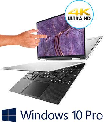 """מחשב נייד Dell XPS 9300 13.4"""" Touch UHD Core i7 1065G7 32GB DDR4 1TB SSD"""