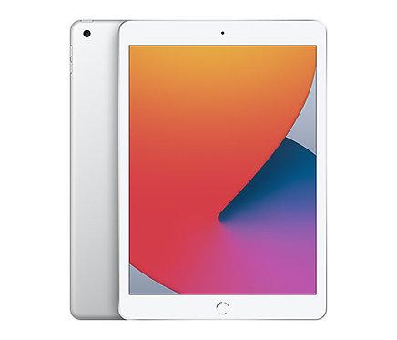 """אייפד Apple iPad 10.2"""" 8th Gen (2020) 128GB Wi-Fi בצבע כסוף"""