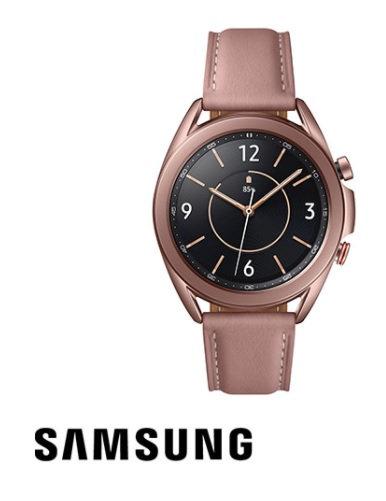 שעון סמסונג Samsung Galaxy Watch3 41mm SM-R850 בצבע ברונזה