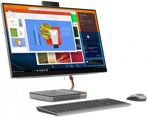 """מחשב הכול במסך """"27 LENOVO AIO 27IMB Core i7 10700T 16GB DDR4 1TB SSD"""