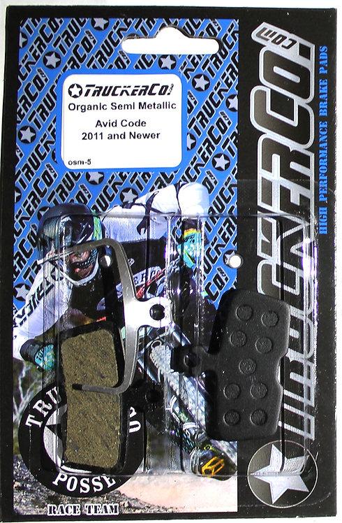 osm5 Sram /Avid Code  2011-2020 / Guide RE and RSDH  Organic Semi-Metallic