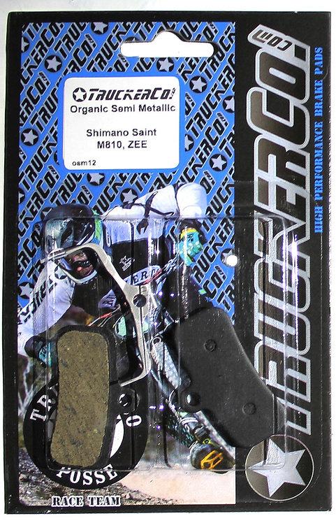osm12 Shimano Saint M810 ZEE Organic Semi-Metallic