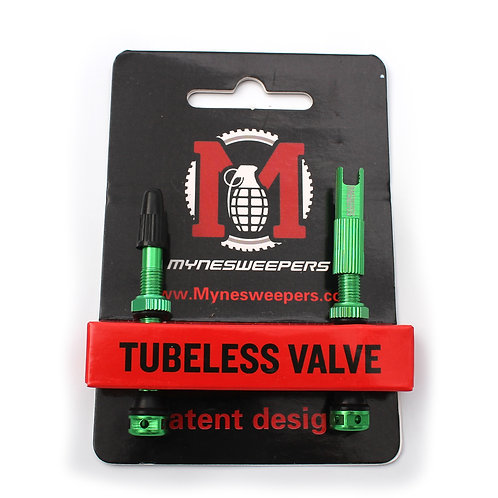 mynesweepers green tubeless valve stems