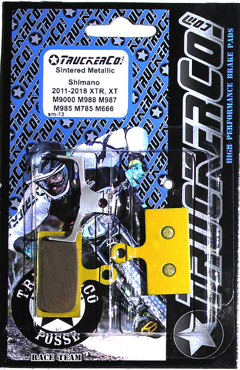 sm13 Shimano 2011-2019  XTR,  XT, SLX  Metallic Sintered