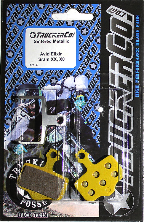 sm4 Avid Elixir Sram Sintered Metallic Ceramic
