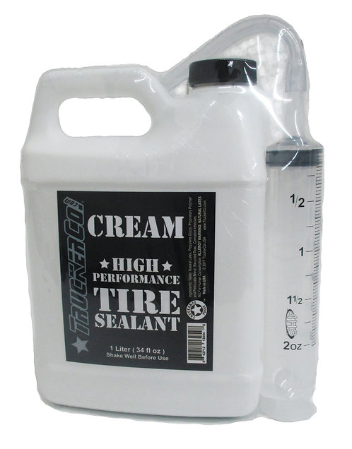 1 Liter  Original Cream Tire Sealant (34 us fl oz)