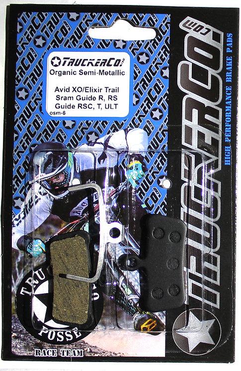 osm6 Avid Sram Guide/  Elix Trail Organic Semi-Metallic osm6