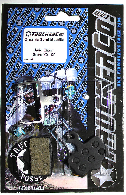 osm4 All Avid Elixir and Sram  Organic Semi-Metallic