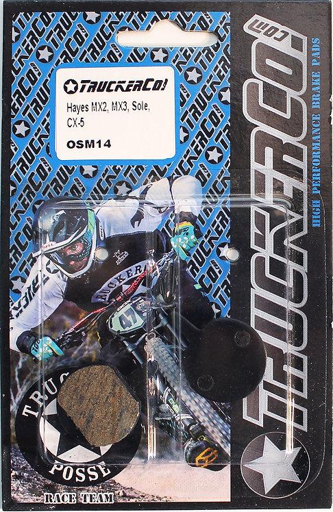 osm14 Hayes/ Bengal/ Cannondale  Organic Semi-Metallic