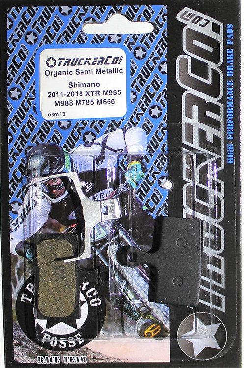 osm13 Shimano 2011 XTR, 2012 XT  Organic Semi-Metallic