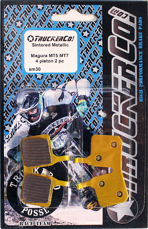 SM30 Magura MT5 MT7 Trail  4 piston- 2 pc Sintered