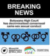 Decriminalisation Ruling in Botswana.jpe