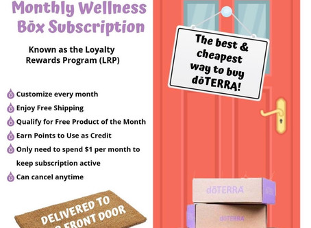 Take a Peak at My Monthly Wellness Box!