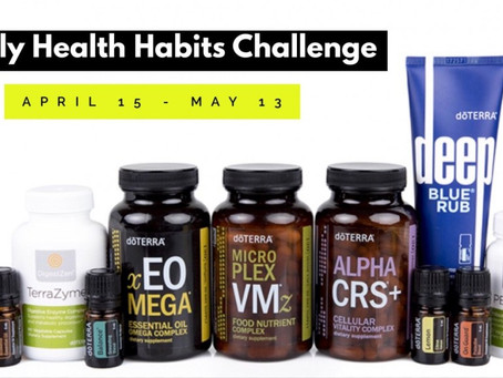 Daily Healthy Habits Challenge!!!