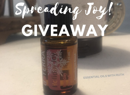 Spreading Joy Giveaway!