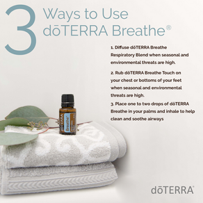3 Ways to Use doTerra Breathe