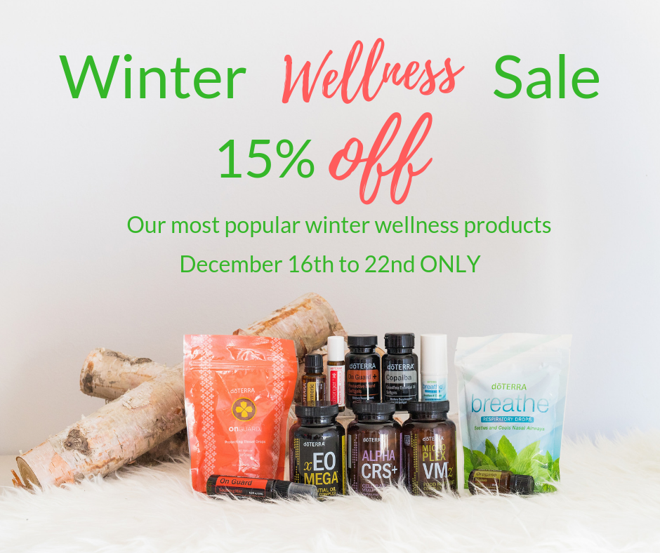 Winter Wellness Sale