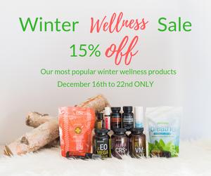 Winter Wellness Sale