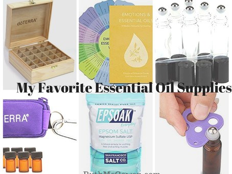 My Favorite Essential Oil Accessories!