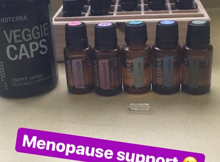 Essential Oils & Menopause Support🤗