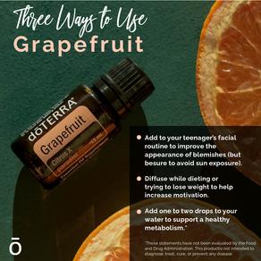 Grapefruit....Three ways to use!
