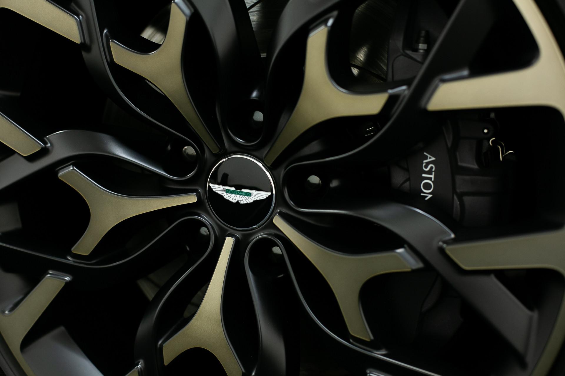 Aston martin DBX wheels in Hong Kong event