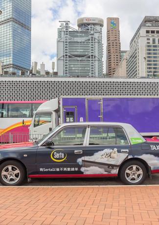 Serta Taxi Ad