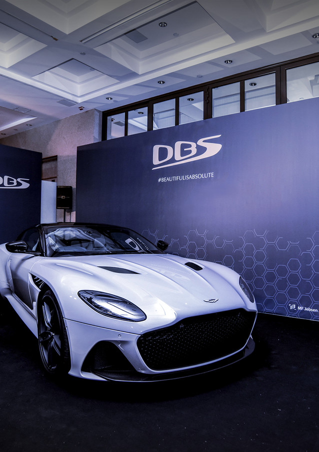 AstonMartin Superleggera Launch