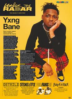 Yxng Bane NME