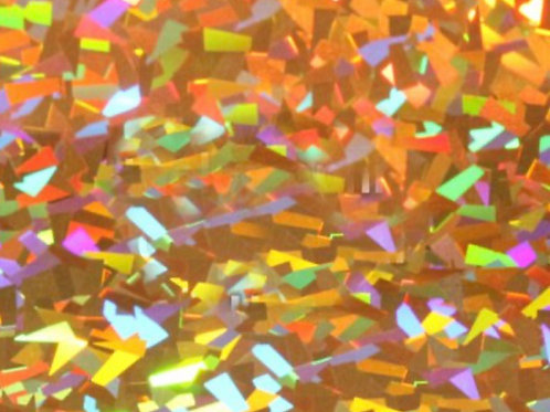 Holographic -Crystal Gold