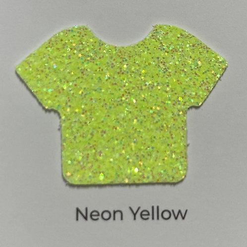 Glitter-Neon Yellow