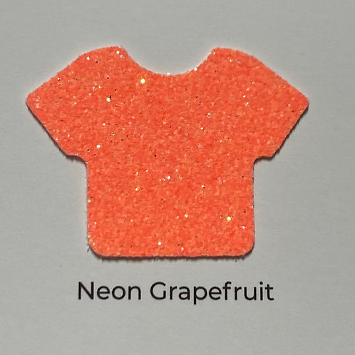 Glitter-Neon Grapefruit