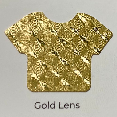 Electric- Gold Lens