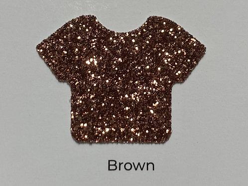 Glitter -Brown