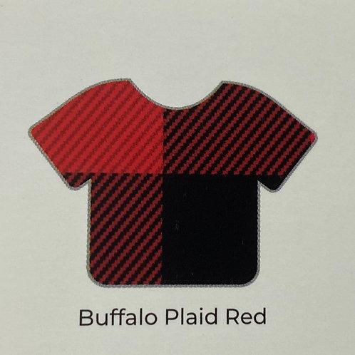 Pattern- Buffalo Plaid Red