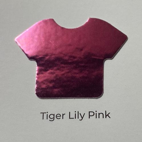 Metal-Tiger Lily Pink