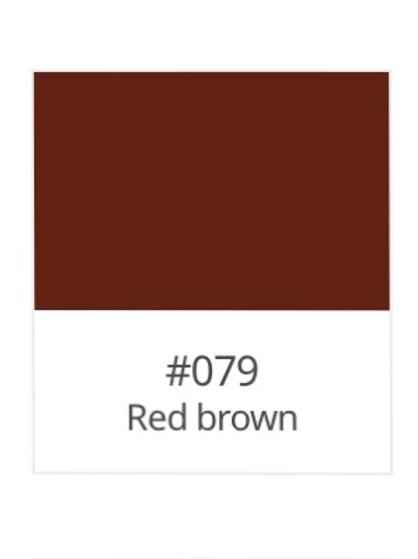 751- Red Brown