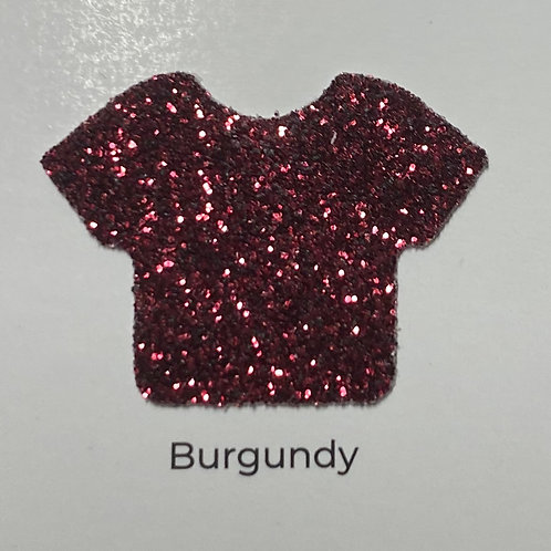 Glitter -Burgundy